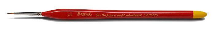 FLX020 Flex-i-File Size 2/0 Ultra Fine Red Sable Brush