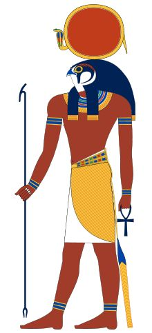 Ra was the sun god. He was the most important god of the ancient Egyptians. The ancient Egyptians believed that Ra was swallowed every night by the sky goddess Nut, and was reborn every morning.