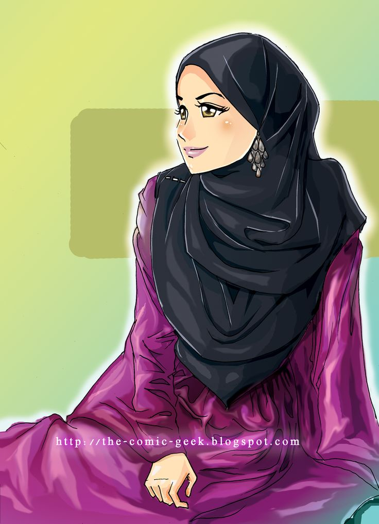 lady in hijab