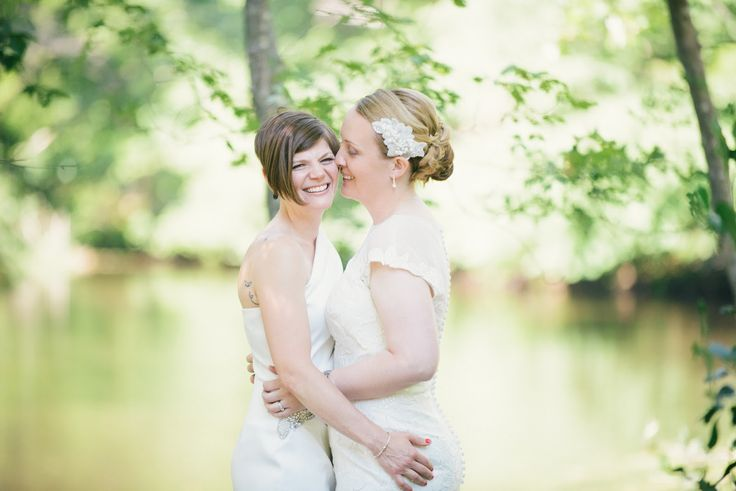 Wedding Photography: Alison Slattery Photography #wedding #love #ido #lesbian #gay #family #brides #twobrides # details #dress #flowers #marriage