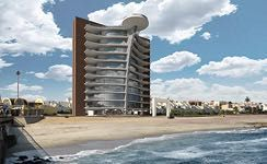 Consep Holdings - The first High-Rise Beach Front Apartments in Swakop, Namibia.