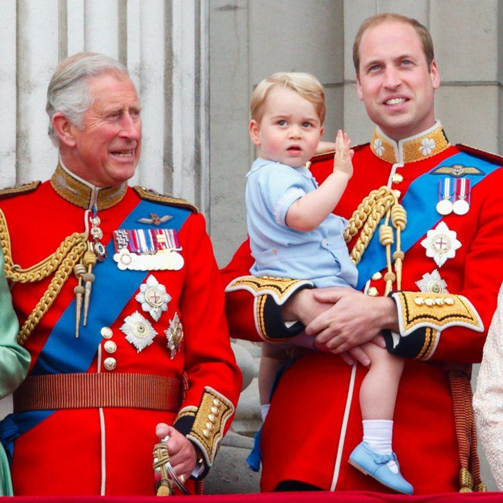 """Prince Charles Calls George """"a Character"""" Who """"Loves Being Outside"""""""