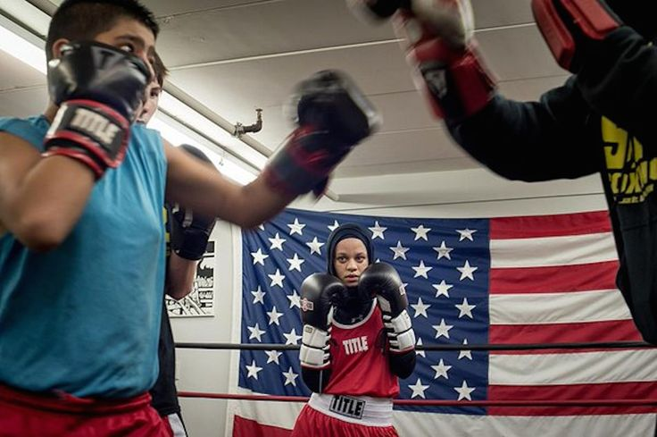 Old-school boxing rules meet 21st century teen girl boxer.