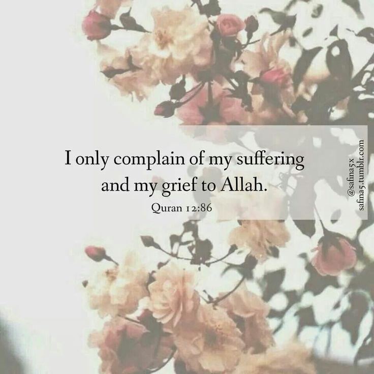 Quran 12:86