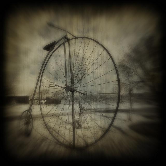 big bike by bob merco, via Flickr