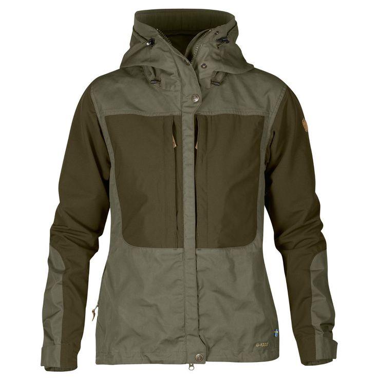 Fjäll  Räven Outdoorjacke, Keb Jacket, Gr.S, dunkelgrün,Tarmac, Damen, UVP 279,-