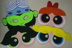 Máscaras em feltro com base em EVA e elástico para prender no rosto. Pode ser feita em qualquer tema. Valor unitário. Estas são das meninas super poderosas: Lindinha, Docinho e Florzinha; e Macaco Louco. Lembrancinha que as crianças vão adorar e os adultos também! Podem também decorar a festa e ser usadas no carnaval ou festas a fantasia. Acima de 30 unidades R$ 11,00 por máscara Acima de 40 unidades R$ 10,00 por máscara R$ 12,00