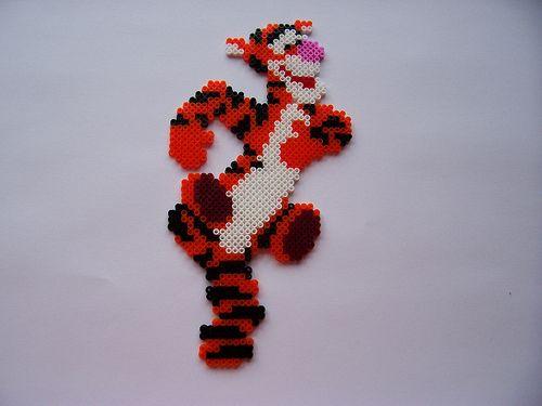 Tigger Winnie the Pooh / hama perler beads
