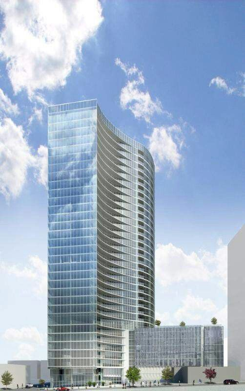 """""""The Sobro"""" 32-story tower to be built between 2nd & 3rd Ave on Demonbruen next to the Encore building."""