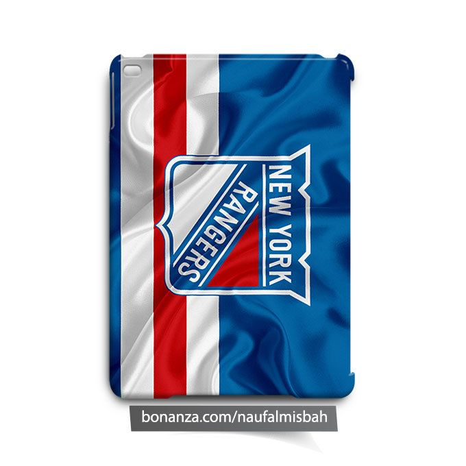 New York Rangers Ruffles Silk iPad Air Mini 2 3 4 Case Cover