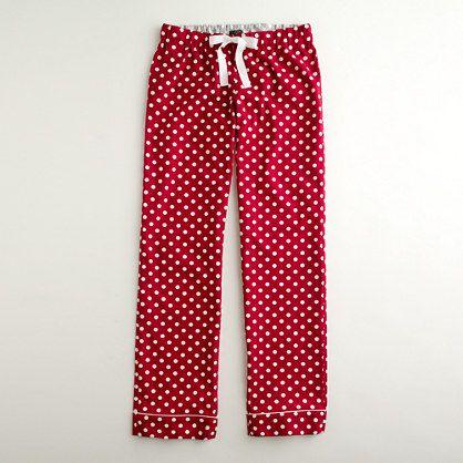 Cute pajama pants.