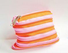 zipper purse