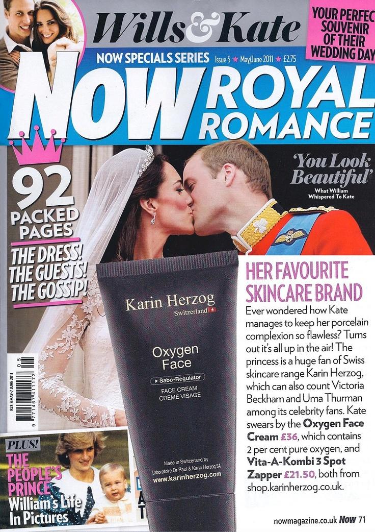 Kate Middleton in New Royal Romance. #KarinHerzog