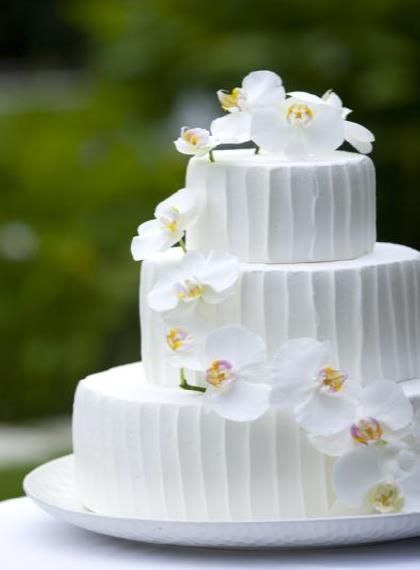 会場装花とトータルコーデ(スペシャルケーキA)