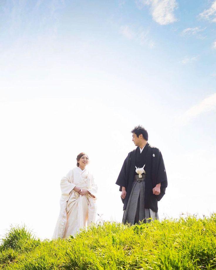 お二人が絶対撮りたいと希望していた河川敷。晴れて良かった。  #weddingphoto #ウェディング #ウェディングフォト #着物 #和装 #和装ロケ #和装フォト  #日本 #和婚 #前撮り #川越 #easteregg #イースターエッグ #目黒区柿の木坂 #結婚式前撮り #きものや沙羅 #春 http://www.butimag.com/イースターエッグ/post/1484026938518501941_3160982643/?code=BSYUqNLgXo1