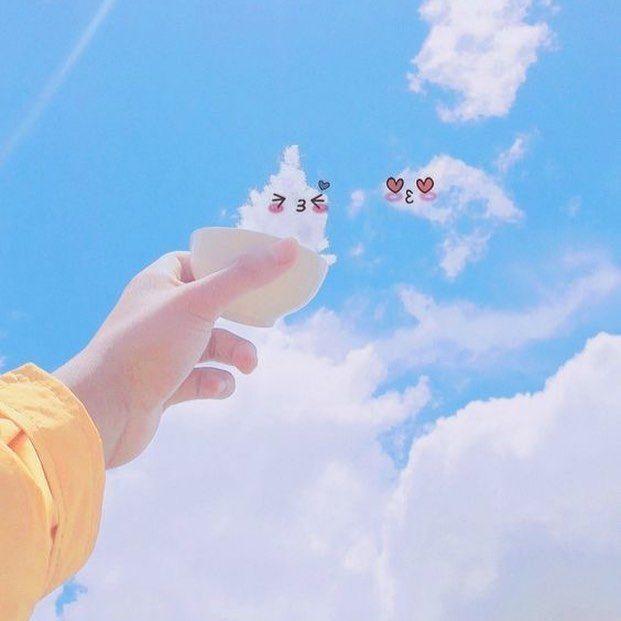 Gambar Mungkin Berisi Satu Orang Atau Lebih Awan Langit Dan Luar Ruangan Langit Awan Gambar Awan