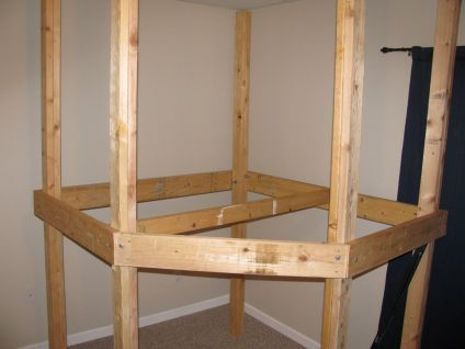 Part 1) Loft for the play room