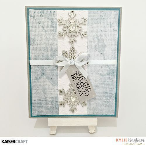"Hi everyone , Today the Design Team are sharing lots of beautiful Christmas Cards featuring Silent Night and Frosted  ""Christmas Cheer"" Card By Anita Bownds PS465 Correspondence Gloss 