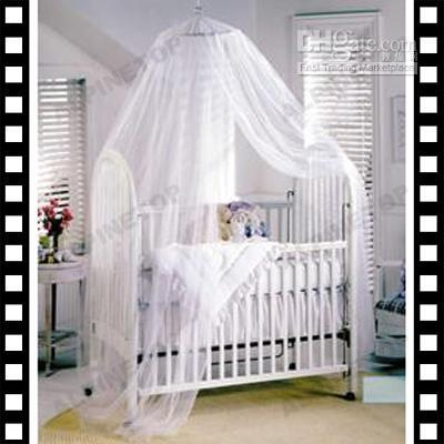 White crib... with a canopy.  Does it get any prettier?!?!Canopies Nets, Baby Mosquitoes, Beds Canopies, Toddlers Beds, Baby Beds, Cribs Canopies, Mosquitoes Nets, Baby Room, Baby Toddlers