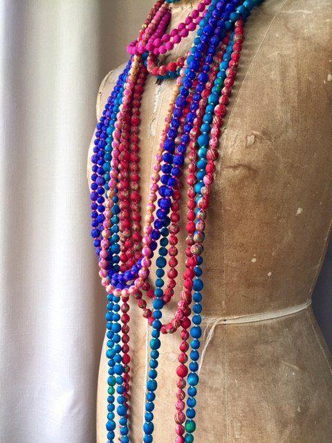 Silk Beads - Summer House NZ