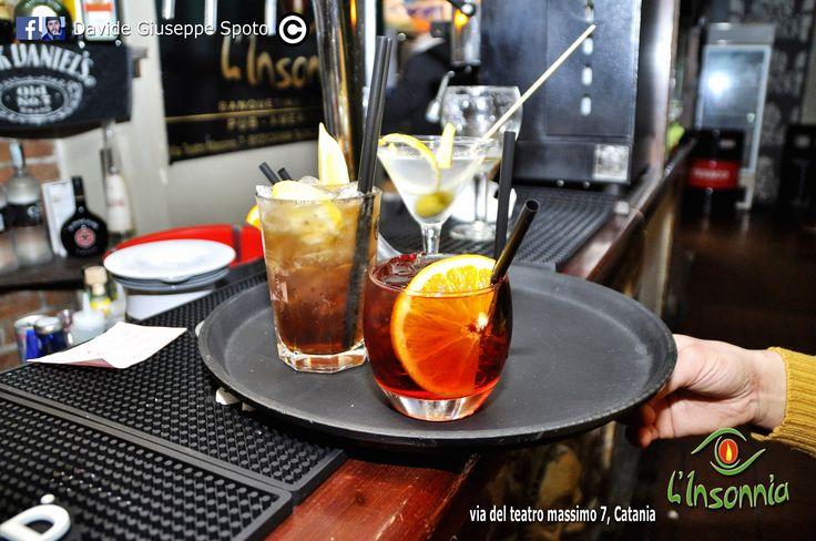 Bevi ottimi cocktails firmati L'Insonnia pub.