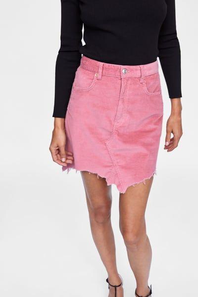 ea321337c Mini skirt zw premium corduroy clifford pink in 2019 ...