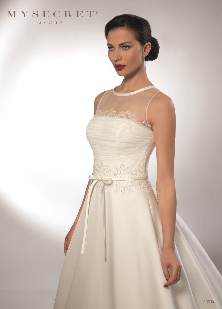 My Secret sposa Abito Sposa Girocollo http://www.nozzemeravigliose.it/gallery-dettaglio.php?id=432