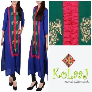 Pakistani Casual Wear Dresses Collection 2014 For Girls