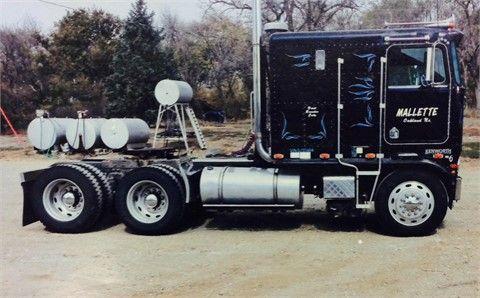 1983 Kenworth K100 Heavy Duty Trucks Cabover Trucks W