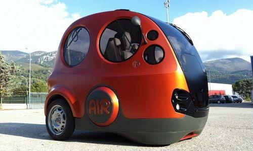 Airpod, la prima auto ad aria compressa, trova casa in Sardegna.