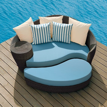 Dune Daybed And Ottoman By Barlow Tyrie. Modern PatioContemporary Outdoor  ...