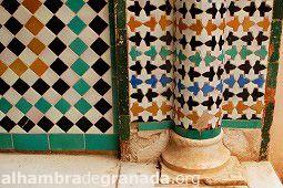 Fotos de Azulejos - Galería de fotos - AlhambraDeGranada.org