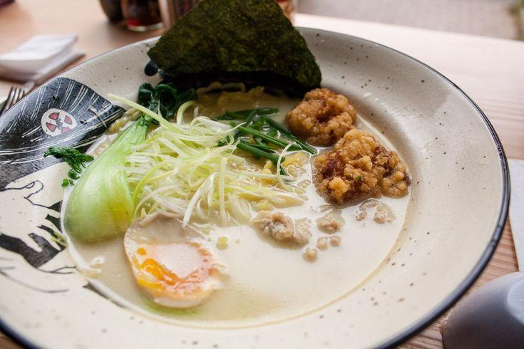 Restaurant japonais à Düsseldorf : Takumi Chicken & Veggie (ramen) sur le blog Olamelama