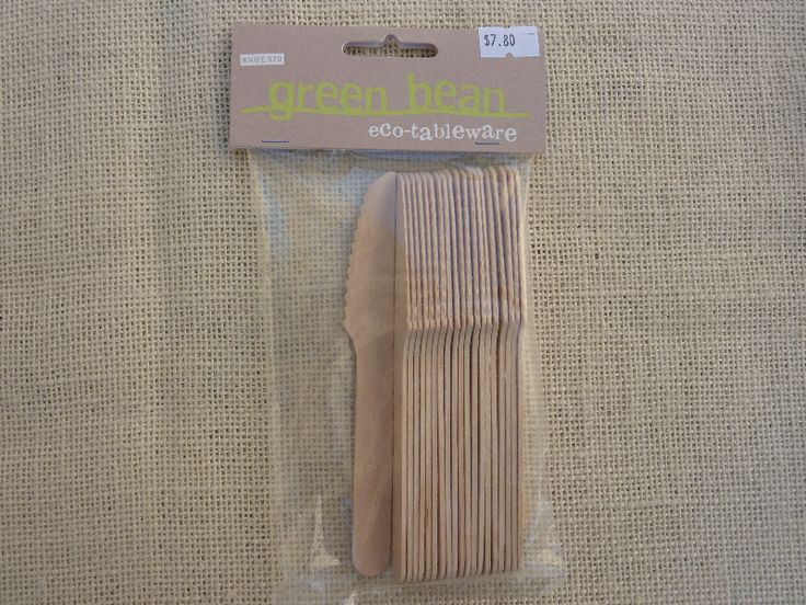 Eco-Tableware Knives 20 pack $7.80