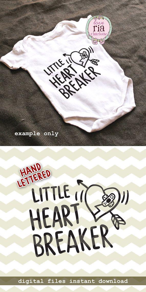 Little heartbreaker baby first Valentine by LoveRiaCharlotte