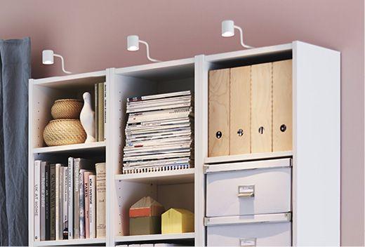 Belysning i din bokhylla sätter tonen i rummet!