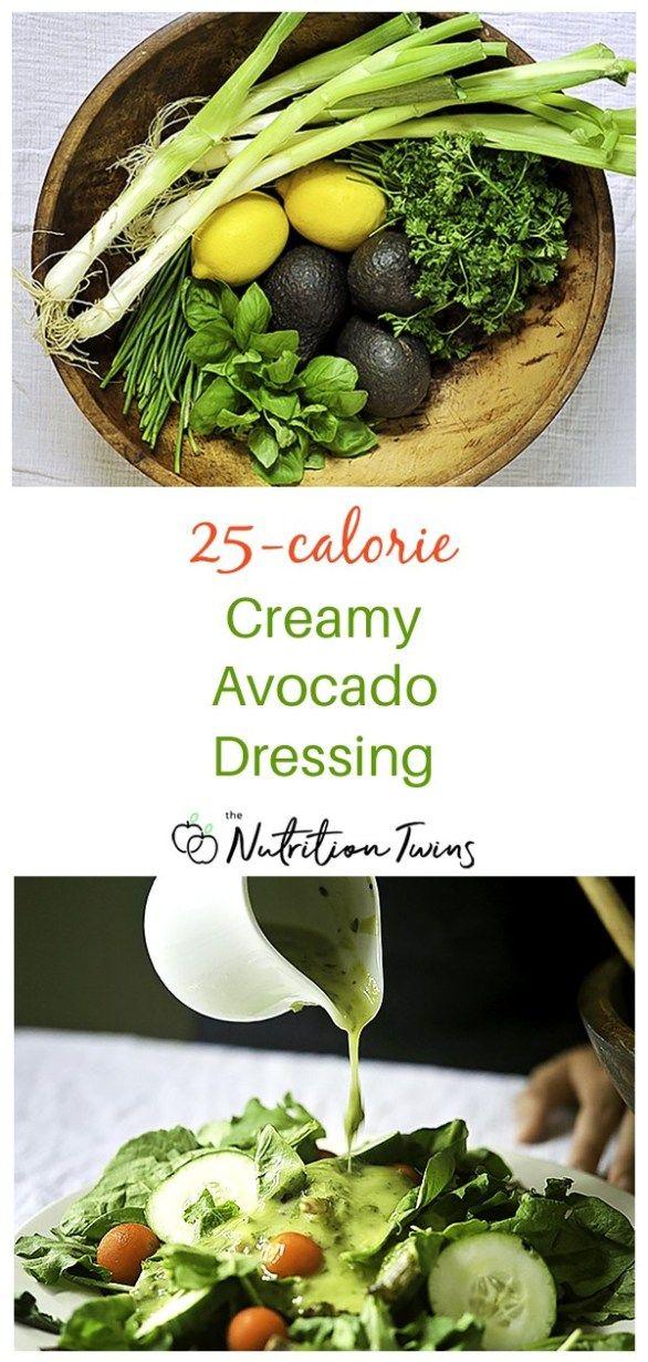Creamy Avocado Dressing – Only 25 Calories – _food_art