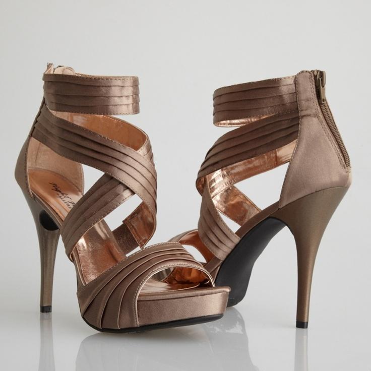 bronze wedding shoes - Google Search