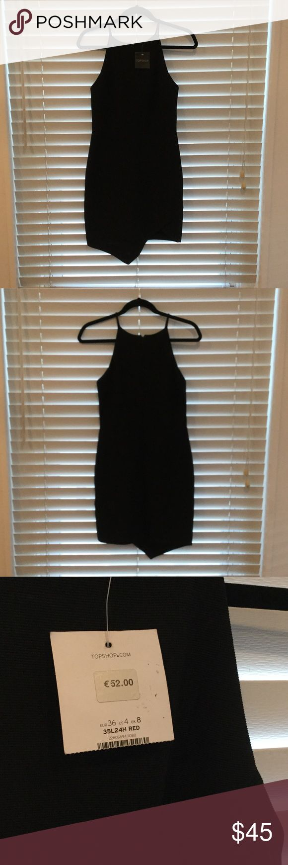 NWT TopShop Dress! A super cute party dress bought from TopShop in London. New with tags, never worn! Has a slight ribbing pattern as seen in the third picture! Topshop Dresses