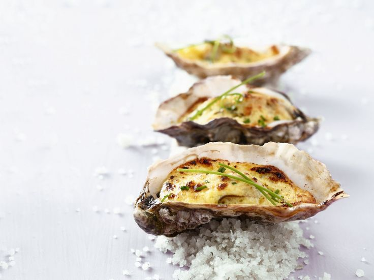 Gegratineerde oesters met champagne - Libelle Lekker