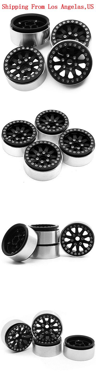 Wheels Tires Rims and Hubs 182201: 4Pcs Alloy 1.9 Beadlock Wheel Rims For 1 10 Axial Scx10 D90 Cc01 Rc Crawler-Us -> BUY IT NOW ONLY: $55 on eBay!