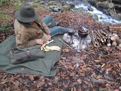 Duluth Pack bedroll camp. I like it even though it is a bit heavy.