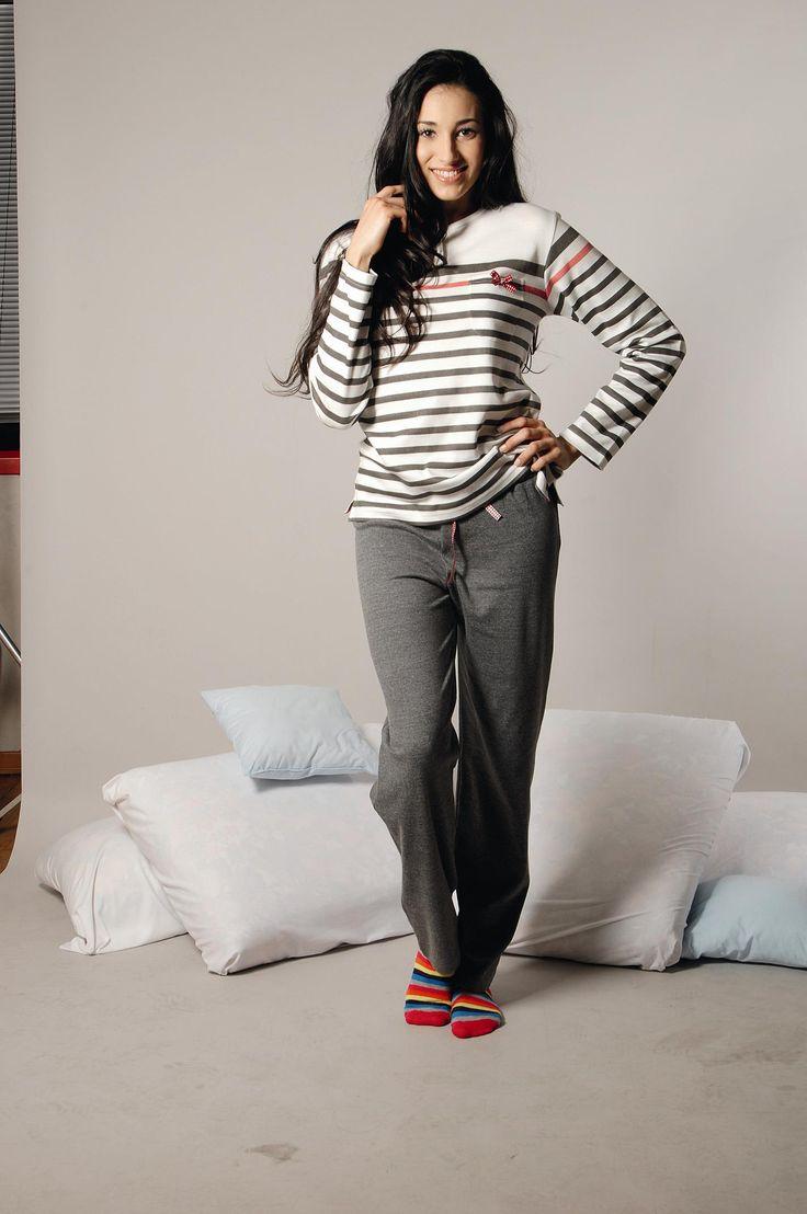 Πυτζάμα – Φόρμα Mypi - Ιταλική με ριγέ σχέδιο