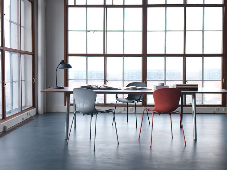 Pluralis table with NAP chairs @ Kasper Salto #fritzhansen #kaspersalto #pluralistable
