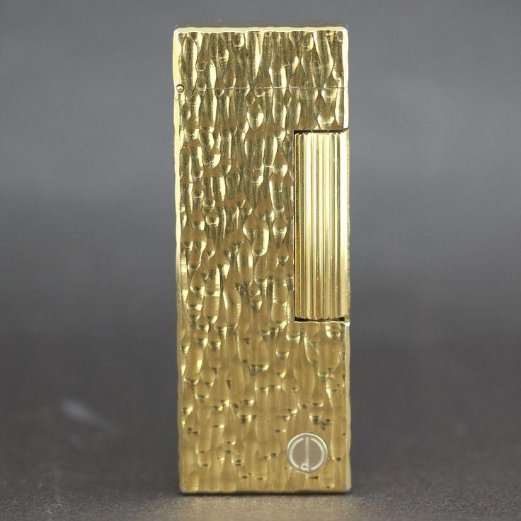 【中古】dunhill (ダンヒル) RL1413 ローラーガス ゴールド GP ライター/シンプルながらゴールドカラーが存在感を漂わせています。/新品同様・極美品・美品の中古ブランドライターを格安で提供いたします。