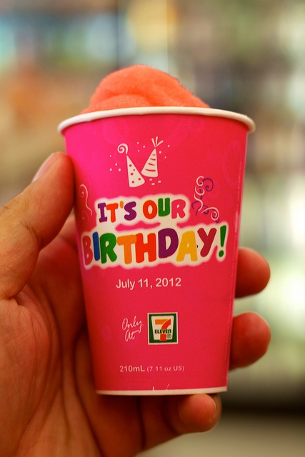 7/11 Brain Freeze by AJ Batac, via Flickr