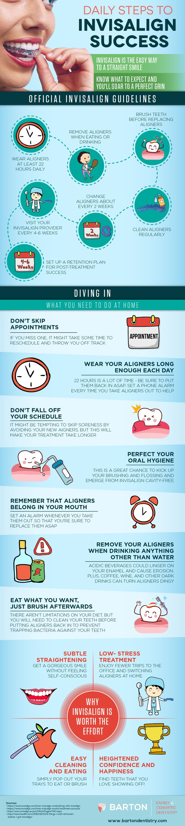 Make your Invisalign process work for you. Adult braces don't have to be frustrating - adopt these daily practices for a comfortable experience.