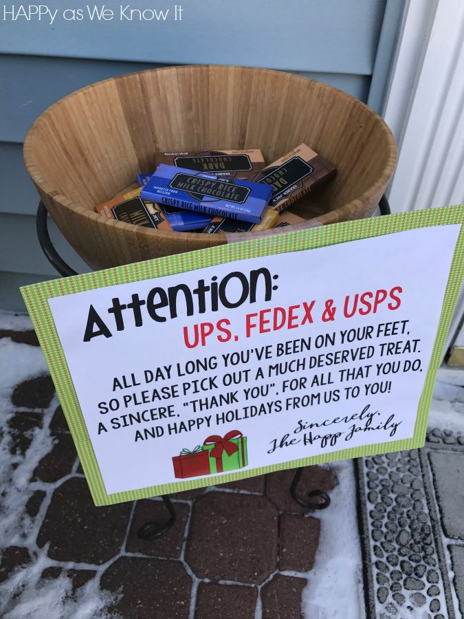 "I have seen a few of these ""Mail Carrier Holiday Signs"" over the past few years, and each year I find myself thinking, ""Gee, what a wonde..."