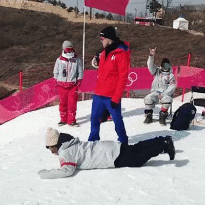 Coming 2022 Winter Olympics: Broboarding