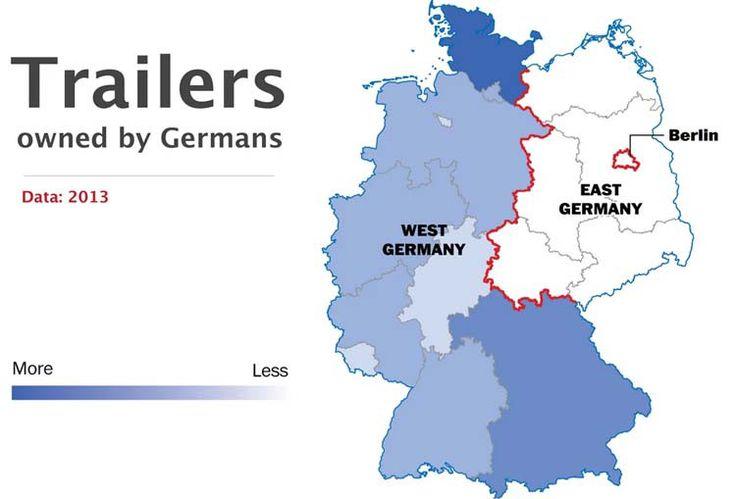 Autocaravanas - 10 hechos que demuestran que Alemania sigue dividida - Planificamos tu viaje